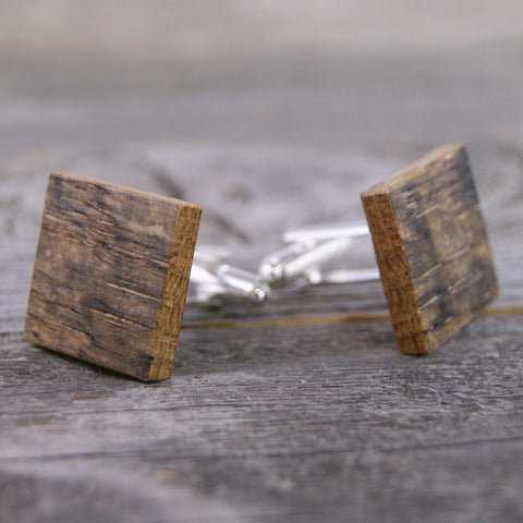 Rustic Wedding/Wedding Cufflinks/Rustic Cufflinks/Recycled Wood/Upcycled/Wooden Cufflinks/Cufflinks/Best Man Gift/Whiskey