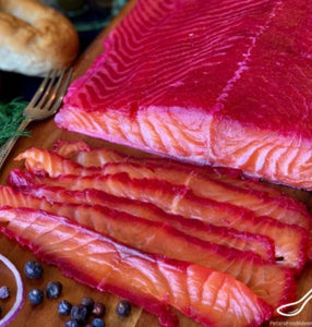 Fillet Of Home Salted Salmon 200g