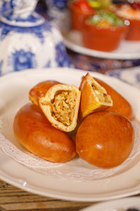 Cabbage and Egg Pirozhok