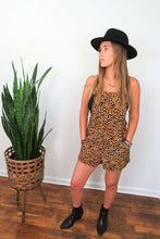 Load image into Gallery viewer, black and brown romper
