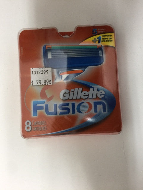 Gillette Fusion  8 Cartridges