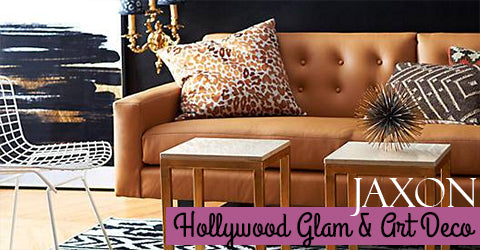 Hollywood Glam and Art Deco by Jaxon Home