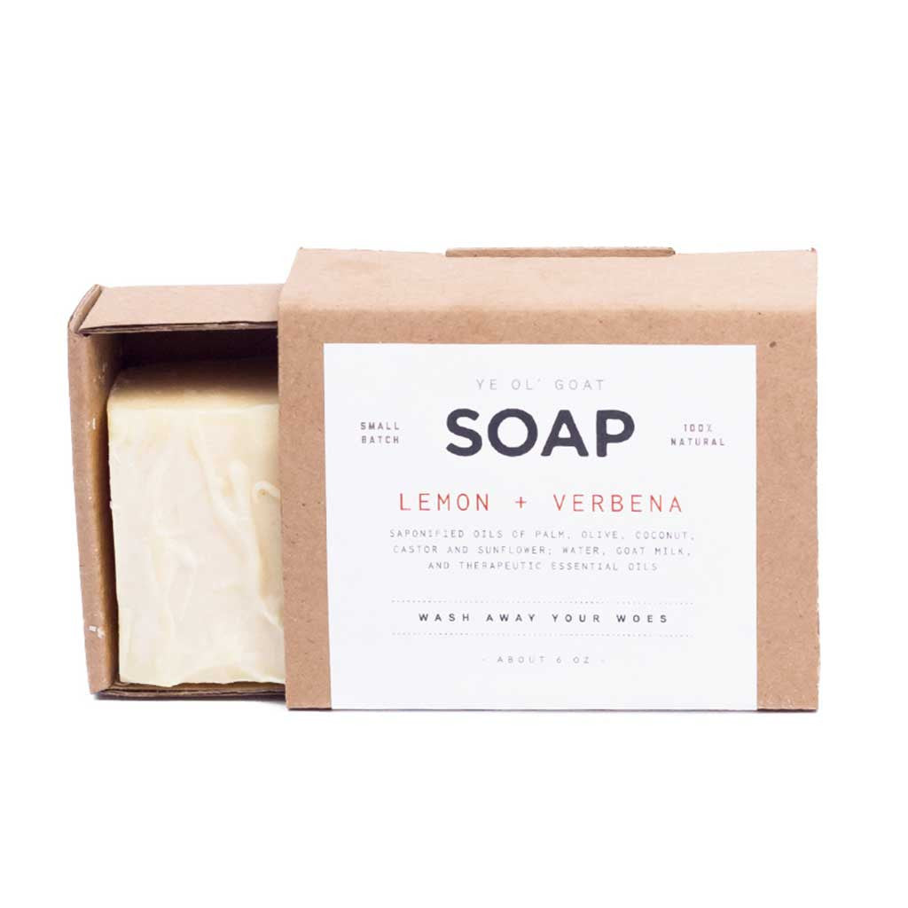 Goat's Milk Soap, Lemon + Verbena
