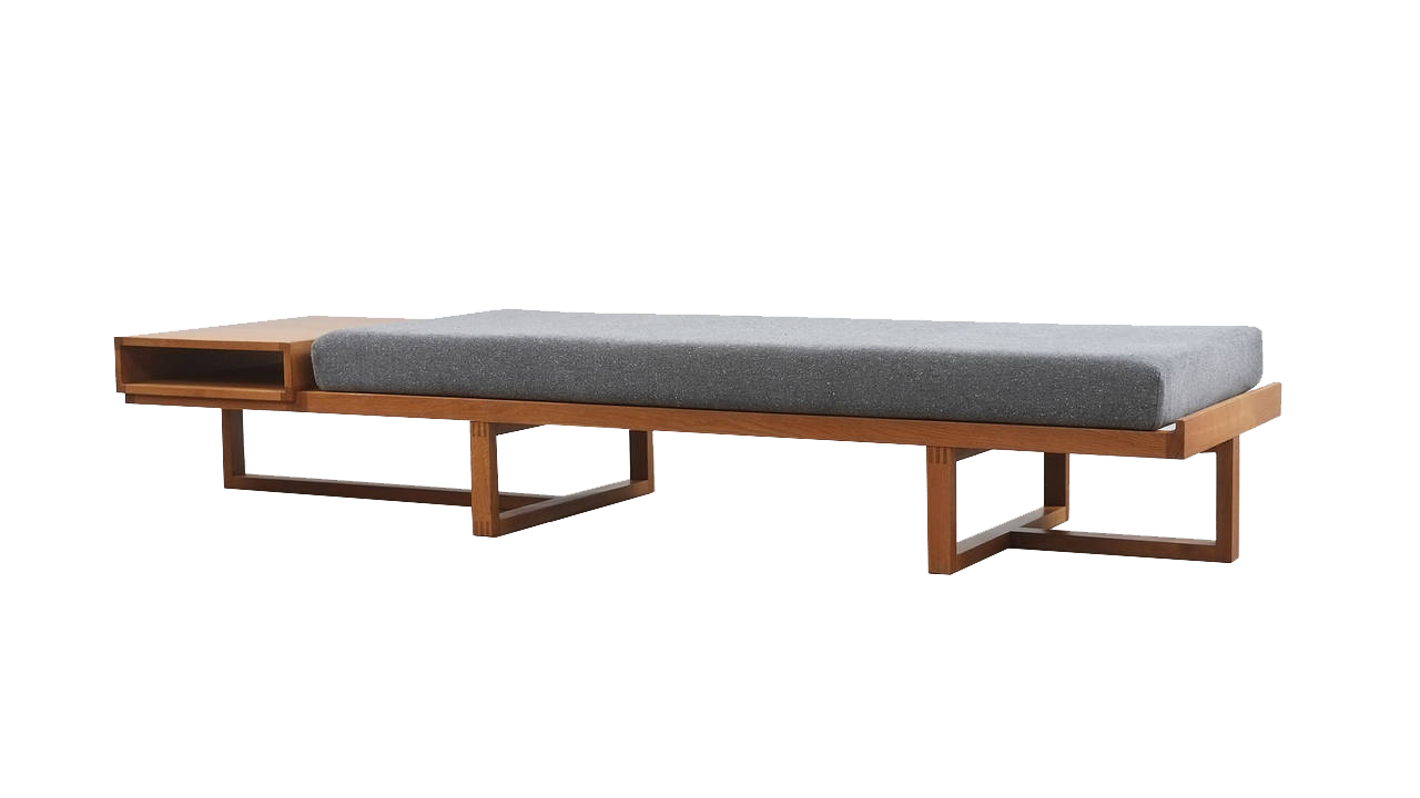 Amalfi Bench (Black Leather)