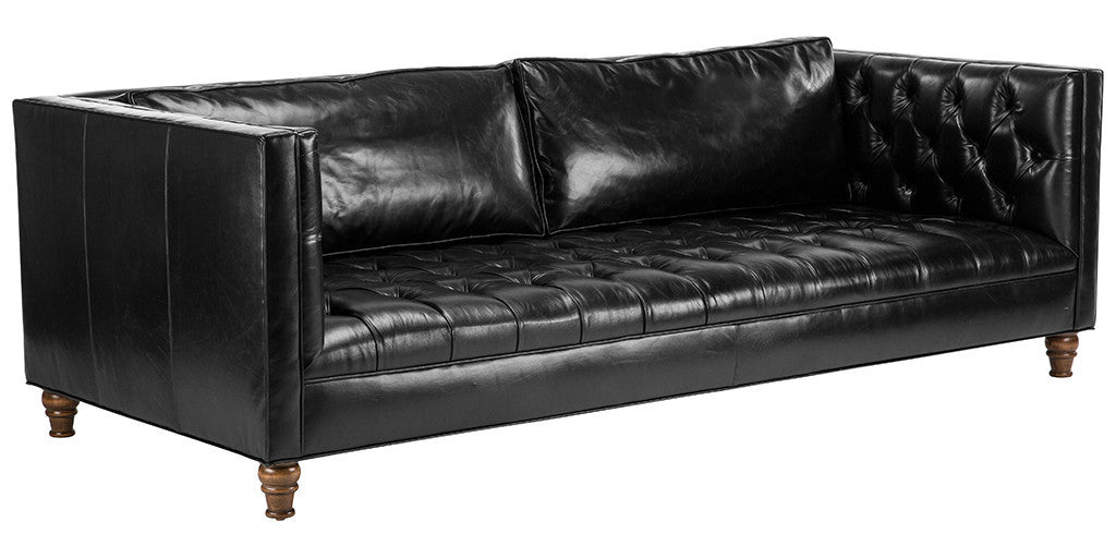 Wondrous Benjamin Leather Sofa Sale Item Gmtry Best Dining Table And Chair Ideas Images Gmtryco