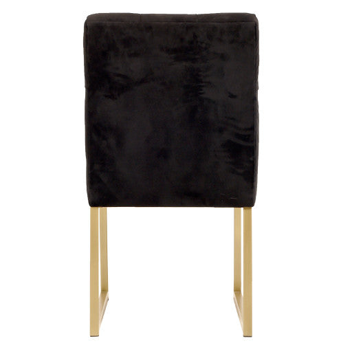 Brass Leg Chair