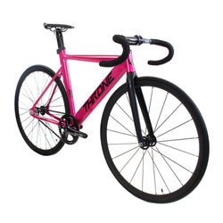 Throne Track Lord Complete Fixed Gear Track Bike - Pink