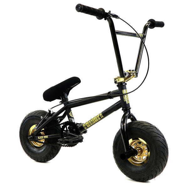 FatBoy Mini BMX Bike Pro Black Hawk X