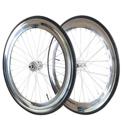 70mm Fixed Gear Wheels Chrome