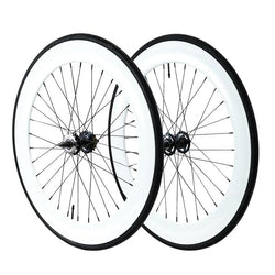 70mm Fixed Gear Wheels White