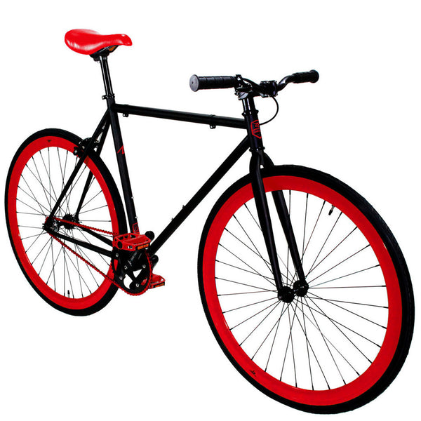 Zycle Fix Fixed Gear Bike Black Cherry