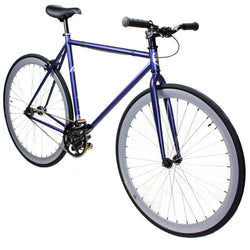 Zycle Fix Fixed Gear Bike Navy