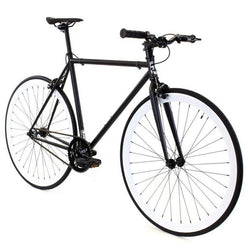 Golden Fixed Gear Single Speed Bike Domino