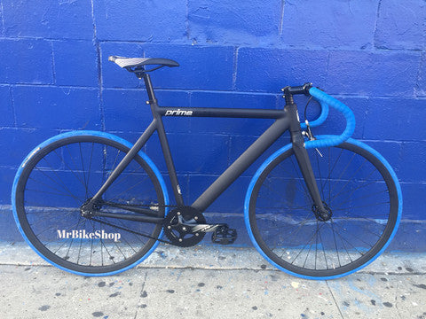 Zycle Fix Prime Fixed Gear Bikes Black/Blue