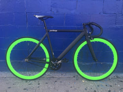 Zycle Fix Prime Fixed Gear Bikes Black/Green