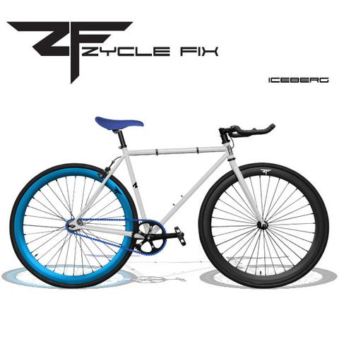 Zycle Fix Fixed Gear Bike-Iceberg