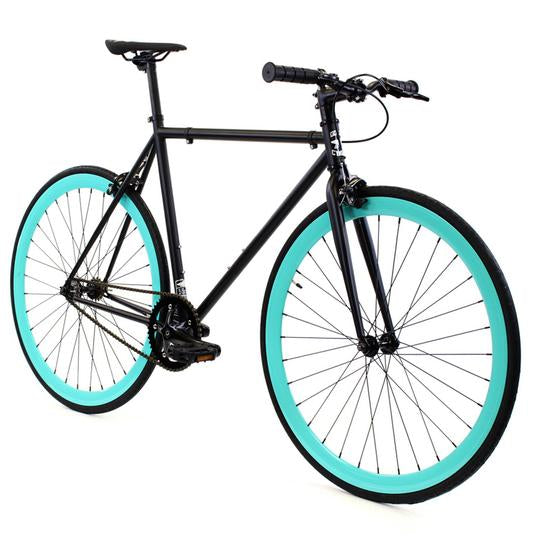 Golden Fixed Gear Single Speed Bike Jackson