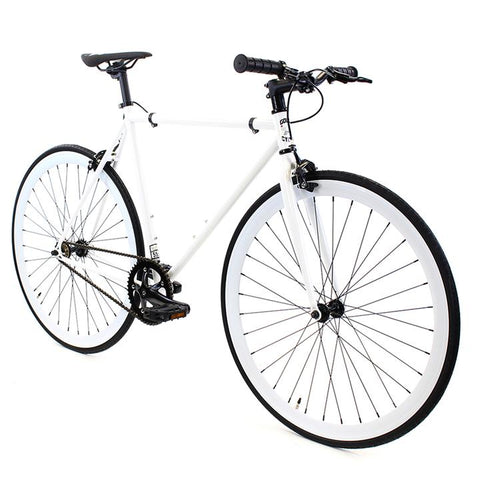 Golden Fixed Gear Single Speed Bike Kilo