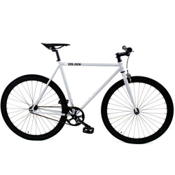 Golden Fixed Gear Single Speed Bike Grey/Black