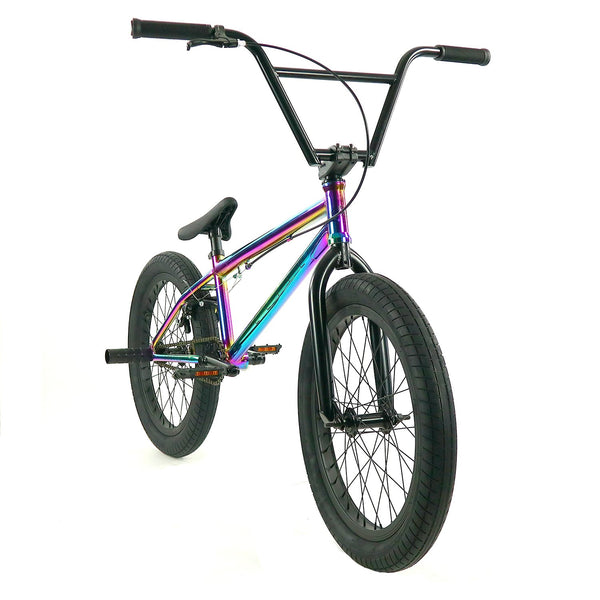 Elite Destro Bmx Bike - Neo Chrome