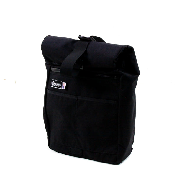 Roll Top Road Runner Bag Black