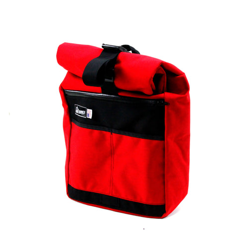 Roll Top Road Runner Bag Red