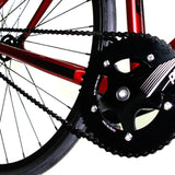 Zycle Fix Prime Alloy Crimson Red