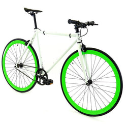 Golden Fixed Gear Single Speed Bike Shamrock
