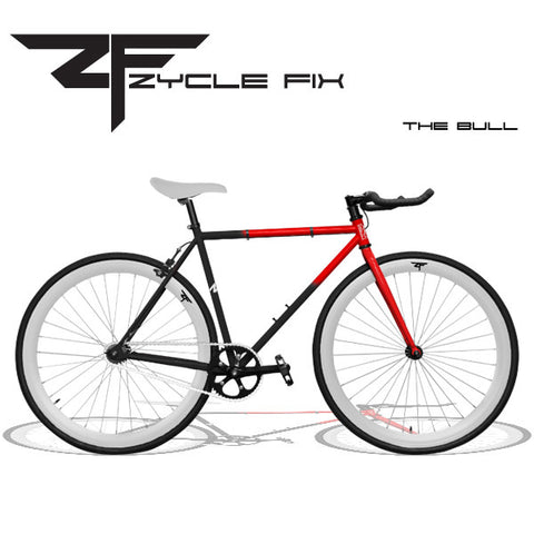 Zycle Fix Fixed Gear Bike The Bull