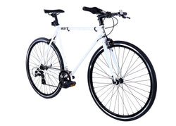 Golden Velo 7 Urban Commuter Bike White