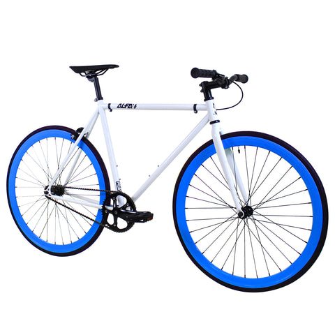ALFA Fixed Gear Bike Greek 2.0 Blue