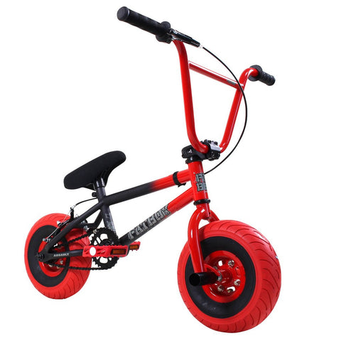 FATBOY Mini BMX Bike Assault 2017 Black Red