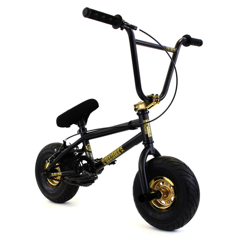 FATBOY Mini BMX Bike Stunt Black Thunder