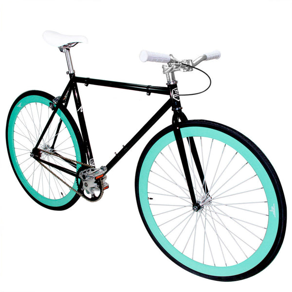 Zycle Fix Fixed Gear Bike Black Skies
