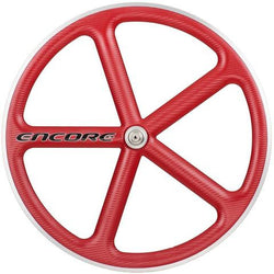 Encore Front Red Track Wheel