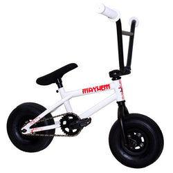 Mayhem Mini BMX White