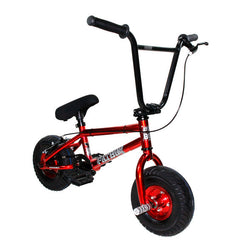 FatBoy Mini BMX Pro Assault Bike 2016 Red Polish