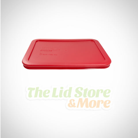 Pyrex - Dark Red 3 Cup Container Lid