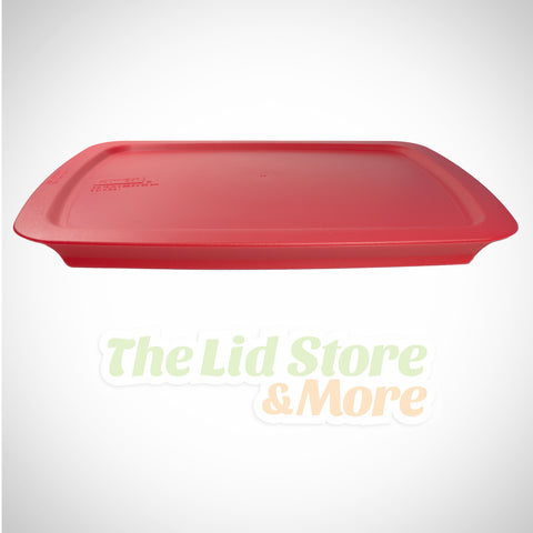Pyrex Easy Grab - Dark Red 3 Qt 9''x13'' Baking Dish Lid