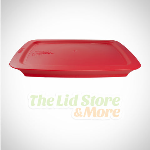 Pyrex Easy Grab -  Dark Red 7''x11'' Baking Dish Lid