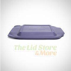 Pyrex - Blue 2 Quart 8''x8'' Square Baking Dish Lid