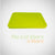 Pyrex - Lime Green 6 Cup Container Lid