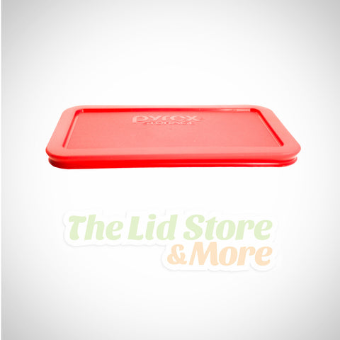Pyrex - Red 4.75 Cup Rectangle Lid