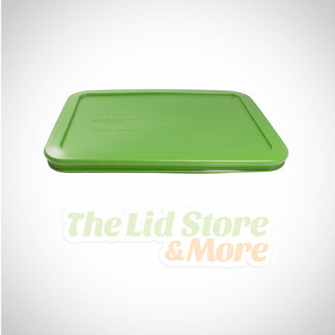Pyrex - Lawn Green 3 Cup Container Lid
