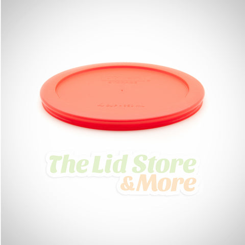 Pyrex - Red 4 Cup Bowl Lid