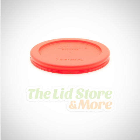 Pyrex - Red 1 Cup Bowl Lid