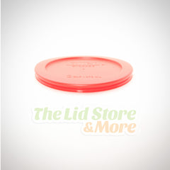 Pyrex - Red 2 Cup Bowl Lid