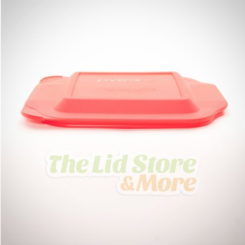 Pyrex - Red 8''x8'' Square Baking Dish Lid