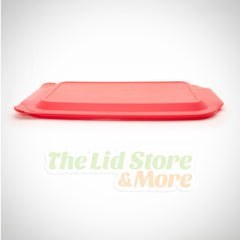 Pyrex - Red 4 Quart 10''x15'' Baking Dish Lid