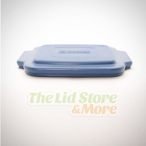 "Anchor Hocking 8""x 8"" Cake Dish Baking Dish Replacement Lid in Blue Z8175"